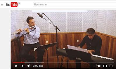 Christian Flaig, Christian Brenner, Art Jazz Floripa Duo