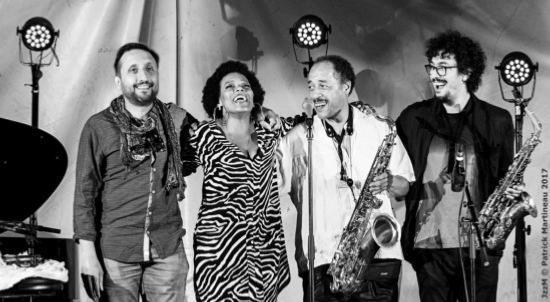 Mike Gorman, China Moses, Ricky Ford, Luigi Grasso © Patrick Martineau