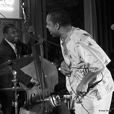 Dezron Douglas et Donald Harrison, Vitoria Jazz Festival (2007) © José M. Horna