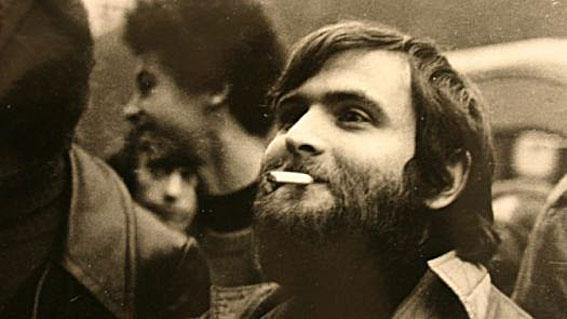 Michel Le Bris, c. Mai 1968, à l'époque de Jazz Hot © photo Eliane Barrault by courtesy