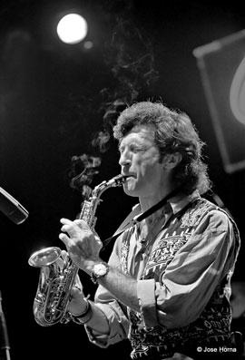 Jorge Pardo, Getxo Jazz 1996 © Jose Horna